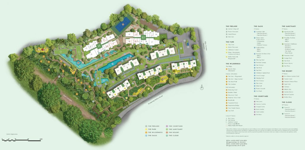 Avenue-South-Residence-Site-Plan-with-Facilities