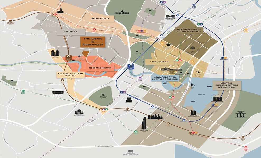 The-Avenir-River-Valley-Location-Map-Amenities