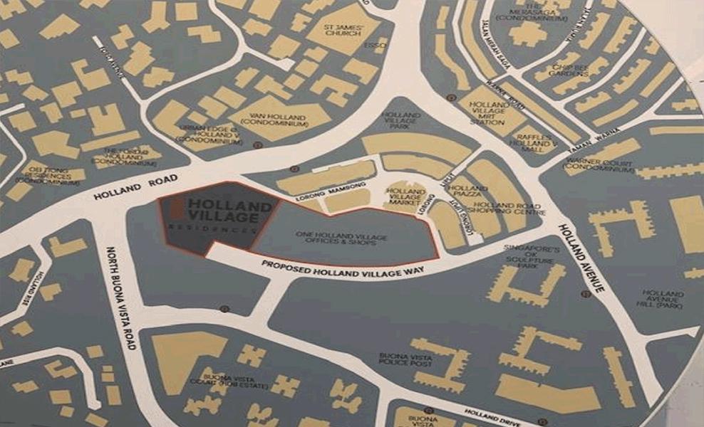 Holland-Village-Residences-location