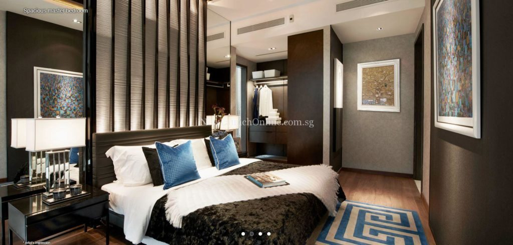 Hallmark Residences Master Bedroom