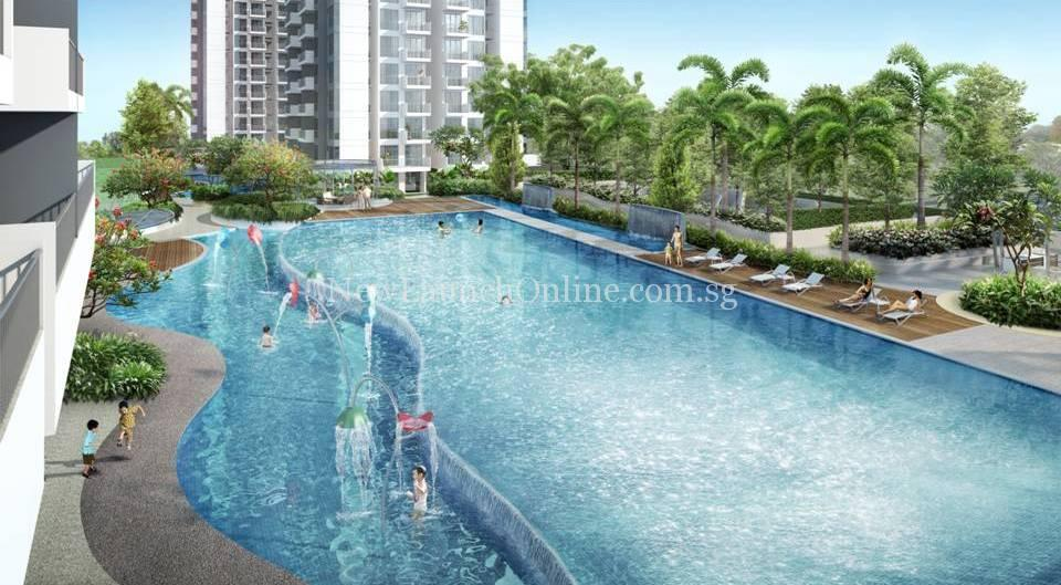 Hillion Residences swimming pool