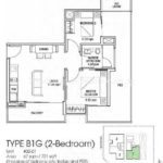 Suites at Newton Floor Plan B1G