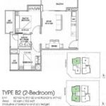 Suites at Newton Floor Plan B2