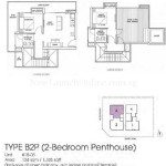 Suites at Newton Floor Plan B2P